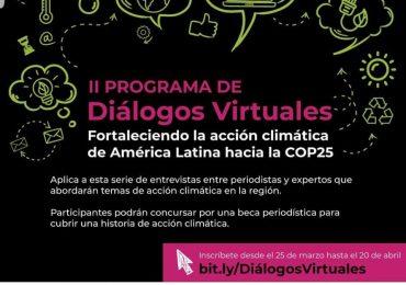 Sesión 1. Diálogos virtuales sobre cambio climático. Invitado Hernán Blanco (Fundación Avina-Chile).