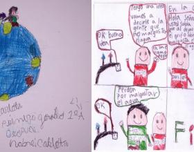 Carlota Aglaee y Gamiliel Poleo: ganadores del 1° Concurso Ambiental de Dibujos e Historietas FESTIVERD 2020